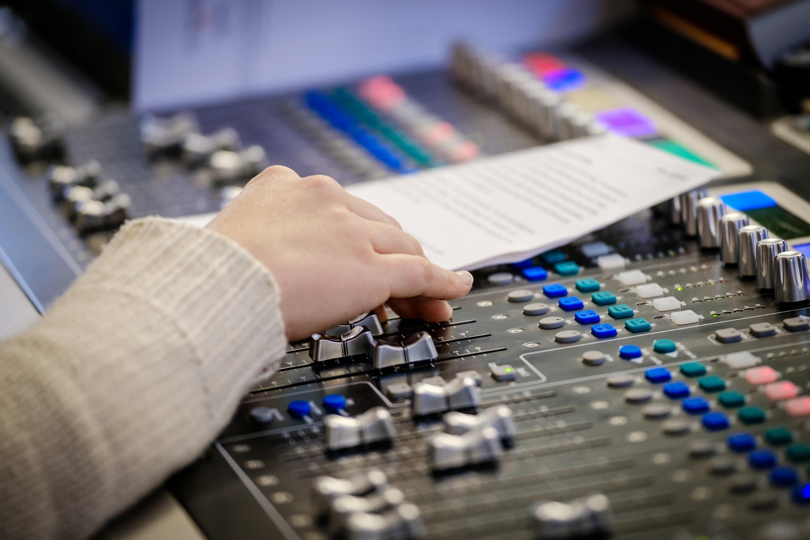 AV PA desk music concert Fulham